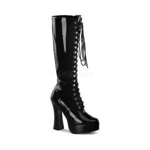Funtasma Exotica 2020 Patent LaceUp Platform Boots